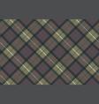 classic tartan check plaid seamless pattern vector image
