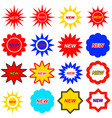 new icons set vector image