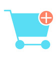add items to shopping cart icon pictogram vector image
