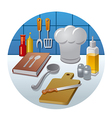 cooking concept icon vector image
