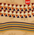 Abstract ethnic pattern vector image