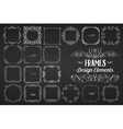 Curls Banners and Swirls Vintage Design vector image