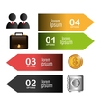 Money and Business design vector image