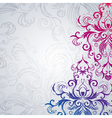 Abstract floral background with east flowers vector image vector image