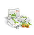 Eco Product Eco packing vector image vector image