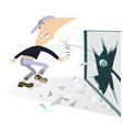 Riots on the streets vector image vector image