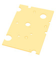 slice of cheese vector image