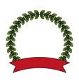 laurel crown icon image vector image