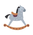Toy horse vector image