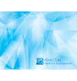 fractal abstract background 3 vector image
