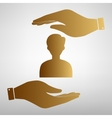 User avatar Anonimus sign vector image