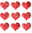 heart tattoo icon vector image