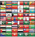 Elements of design icons flags of the countries of vector image vector image