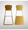 Salt and pepper sign vector image