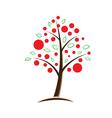 Apple tree symbolic vector image