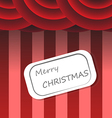 Christmas background circus style vector image