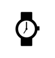 Wrist watch icon vector image