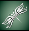 Abstract butterfly 3d vector image