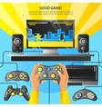 Game Gadget vector image