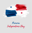 panama independence day background vector image