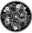 gear mechanism second variant vector image vector image