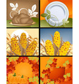Thanksgiving Concept vector image vector image