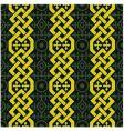 braid pattern vector image