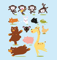 Funny Animals Cartoon vector image