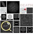 DEATH vector image vector image