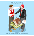 Real Estate 01 People Isometric vector image