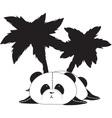 palmbear vector image vector image