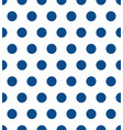 seamless polka dot pattern colorful stamp for vector image
