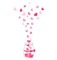 hand drawn jar vector image