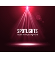 Spotlight effect scene background Background in vector image