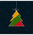 Celebratory tree vector image
