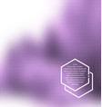 blurred urban background scene vector image