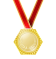 Medal for the winner vector image vector image