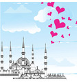 I Love Istanbul Design vector image