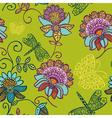 Cutesy scrapbook pattern vector image