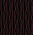 Brown barbed wire on black background vector image