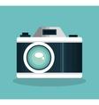 icon camera travel design vector image