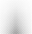 Abstract monochrome star pattern background design vector image