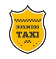 Taxi badge vector image