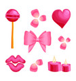 valentine s day romantic dating sweet vector image