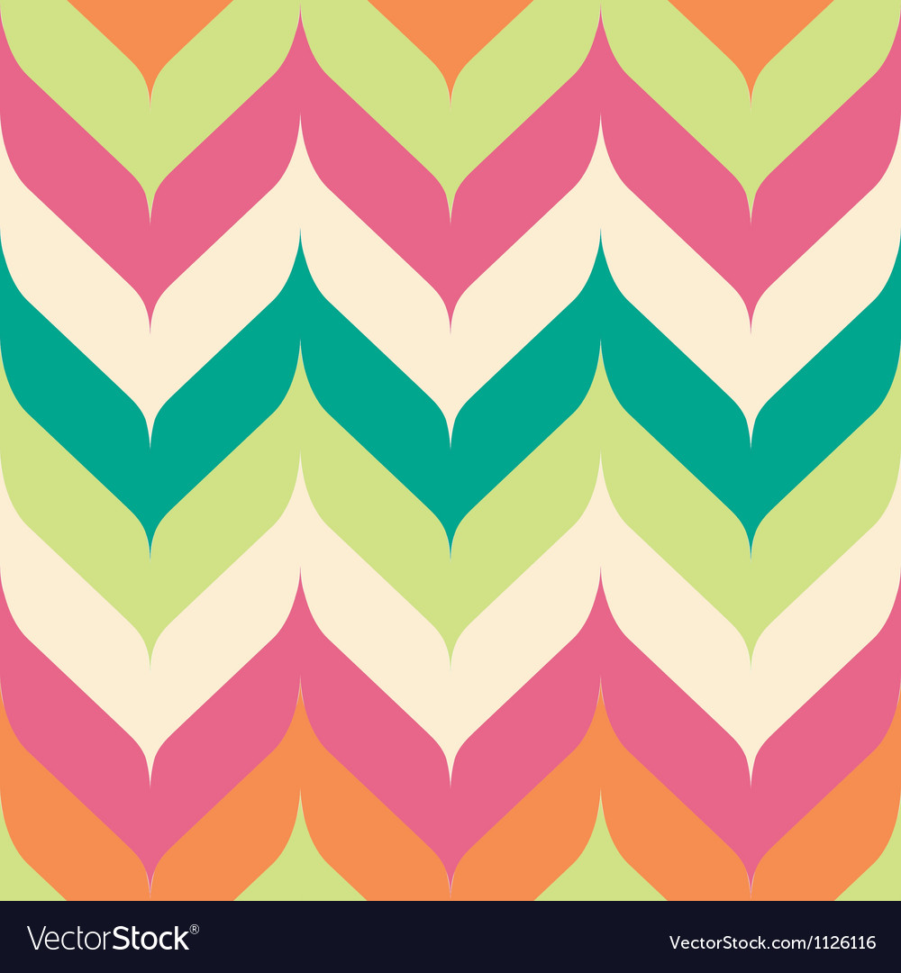 Seamless pointed chevron vector