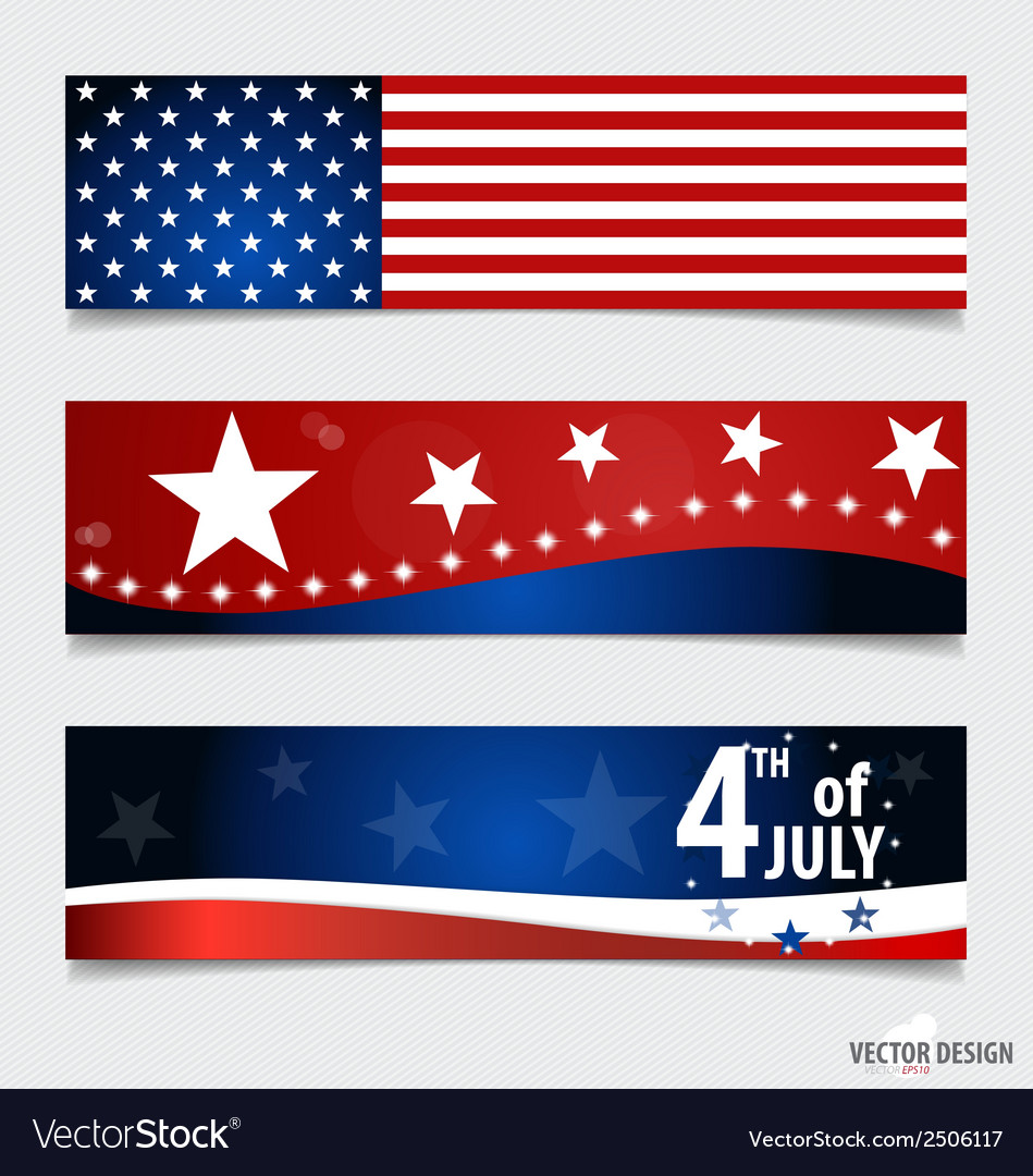 American flag and note papers ready for your vector