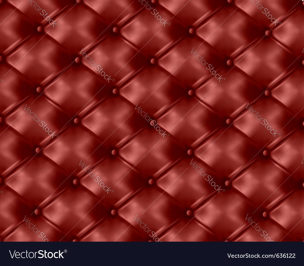 Cushion leather background vector