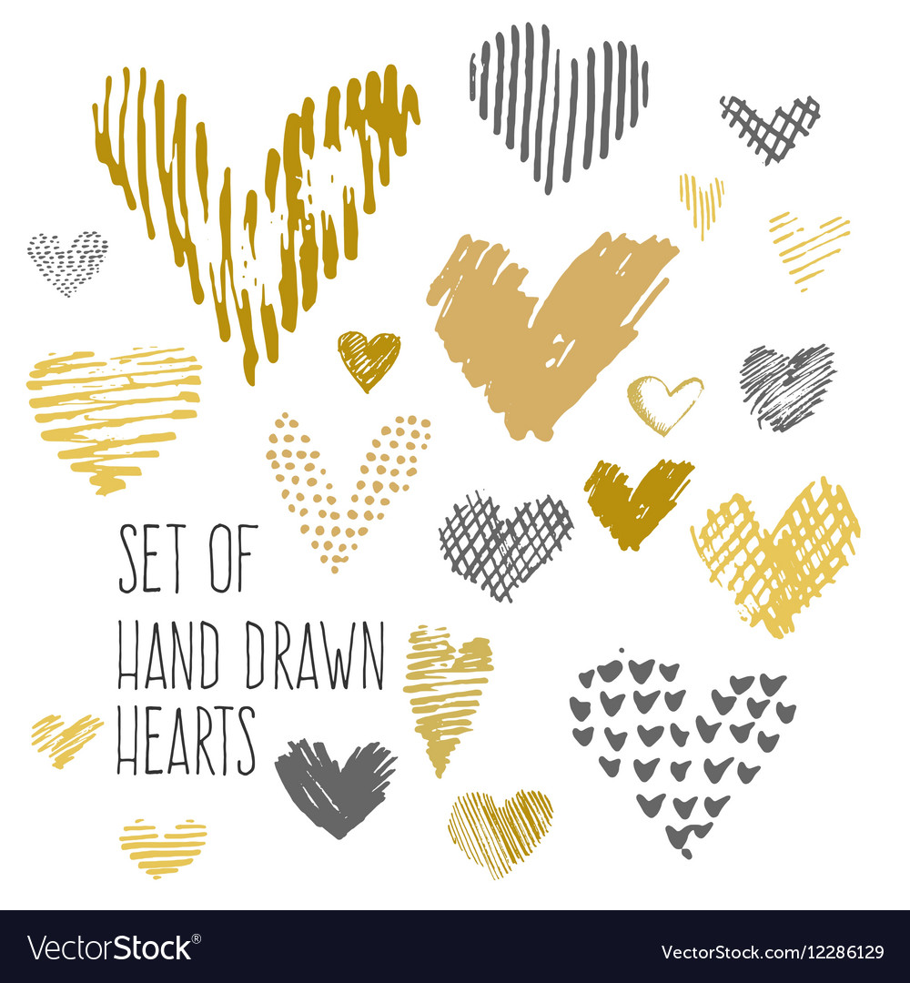 Design elements for valentine day vector