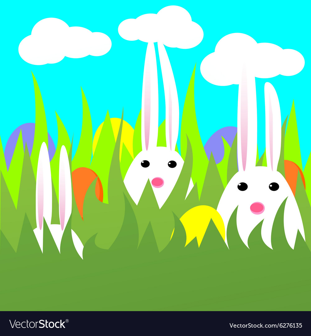 Rabbits vector