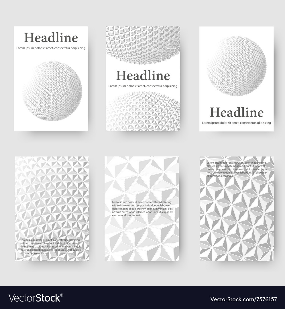 Abstract creative concept mesh polygonal vector